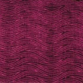 Carrie - Fuschia - Fuchsia purple waves on purple fabric