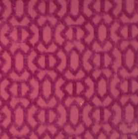 Heeley - Raspberry - Raspberry pink fabric with a modern line pattern