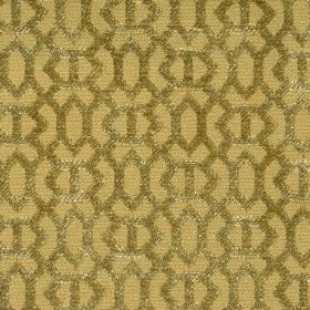 Heeley - Lime - Lime green fabric with a modern line pattern