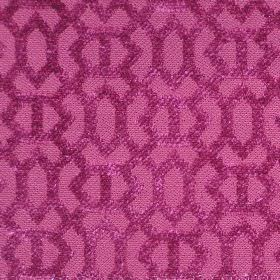 Heeley - Pink - Pink fabric with a modern line pattern