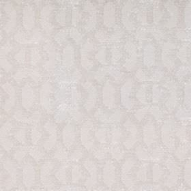 Heeley - Ivory - Ivory white with a modern line pattern