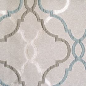 Malone - Dove - Sandy fabric with classic dove grey pattern