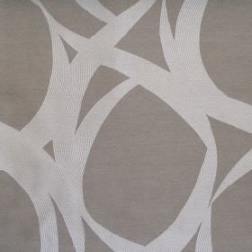 Lola - Dove - Dark grey fabric with random dove grey stroke pattern