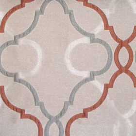 Malone - Alpine - Sandy fabric with classic alpine grey pattern
