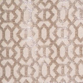 Heeley - Taupe - Taupe brown with a modern line pattern