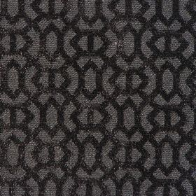Heeley - Noir - Noir black with a modern line pattern