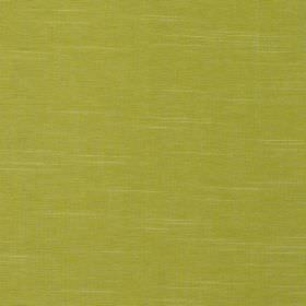 Laguna - Sorbet - 100% cotton fabric in lime green, highlighted occasionally by light cream coloured horizontal threads