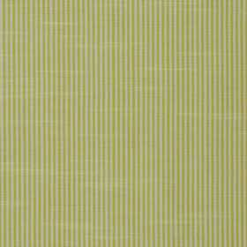 Balboa - Sorbet - Fabric made from pinstripe patterned 100% cotton in light grey and bright lime green colours