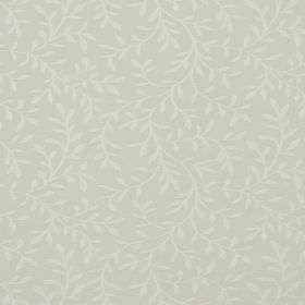 Oldbury - Ivory - Cotton and polyester blend fabric in off-white covered with a very subtle pattern of simple, elegant vines and leaves