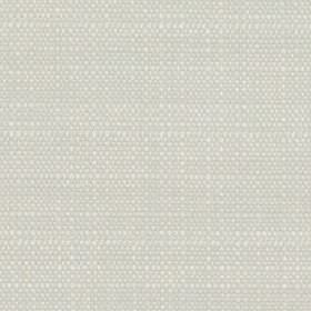 Raffia - Frost - Very pale grey coloured polyester and viscose blend fabric woven using a few subtle white threads