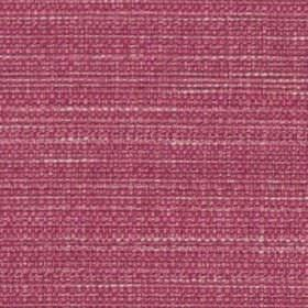 Raffia - Fuchsia - A few white and dusky pink coloured threads running through vibrant magenta coloured polyester and viscose blend fabric