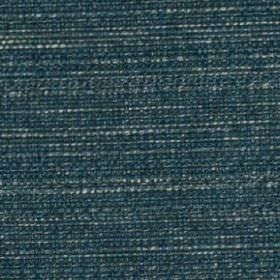 Raffia - Kingfisher - Deep, rich marine blue and white coloured threads woven together into a luxurious polyester and viscose blend fabric