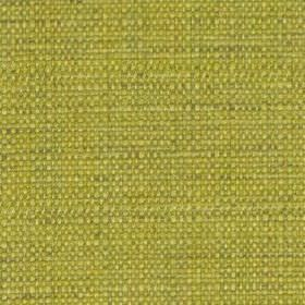 Raffia - Lime - Apple green coloured polyester and viscose blend fabric, woven with a few subtle threads in a slightly darker green