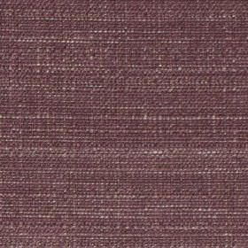 Raffia - Plum - A few white threads running through dark grape coloured fabric woven from a blend of polyester and viscose