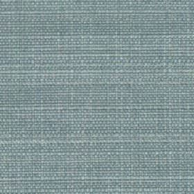 Raffia - Powder Blue - Powder blue coloured fabric woven from threads made with a mixed polyester and viscose content