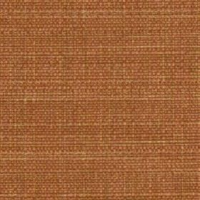 Raffia - Rust - Polyester and viscose blend fabric woven in a rich, vibrant rust colour