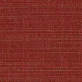 Raffia - Tomato - Light red coloured threads woven into a deep burgundy coloured polyester and viscose blend fabric