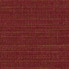Raffia - Cherry - Fabric made from polyester and viscose, woven using threads in rich shades of cherry and beige