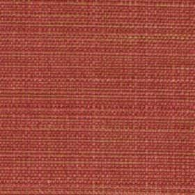Raffia - Coral - Several similar dark shades of pink making up a woven polyester and viscose blend fabric