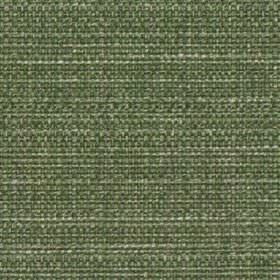 Raffia - Fern - Woven polyester and cotton blend fabric made using threads in dark forest green and very pale grey-white