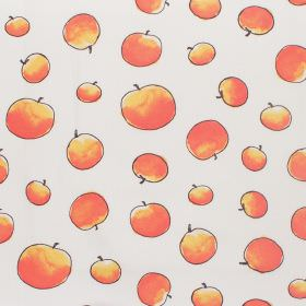 James And The Giant Peach - Giant Peaches - Cotton fabric with neutral background with peaches