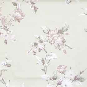 Applebury - Sage - Sage green fabric with detailed flower impressions