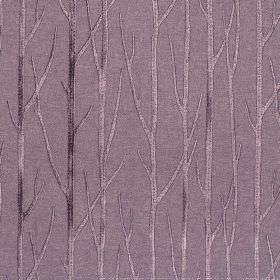Enchant - Grape - Grape purple fabric with enchanting tree branches