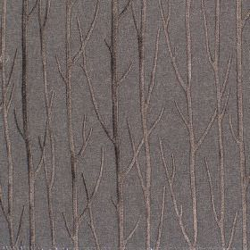 Enchant - Onyx - Onyx black fabric with enchanting tree branches