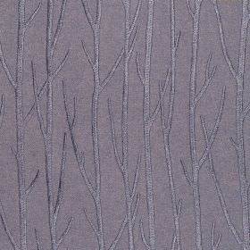 Enchant - Sapphire - Sapphire purple fabric with enchanting tree branches