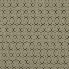 Cortona - Otter - Pale grey circles in 2 different sizes printed in neat rows on a background of very dark fabric made from 100% polyester
