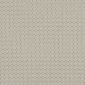 Cortona - Shell - 100% polyester fabric patterned with rows of small grey circles in two different sizes on a slightly darker background