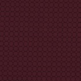 Cortona - Wine - Fabric made from 100% polyester, covered with a pattern of rows of small circles in two similar shades of aubergine