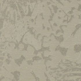 Priestley - Oyster - Cotton and polyester blend fabric made in two similar light shades of grey, featuring a subtle abstract pattern