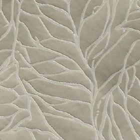 Whinny - Stone - Thin, random, very pale grey-white lines patterning a background of silver-grey coloured 100% polyester fabric
