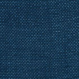 Madison Solid - Indigo - Vibrant, rich marine blue coloured fabric woven from 100% linen