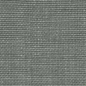 Madison Solid - Pewter - Fabric woven from 100% linen in a classic, contemporary, stylish silver-grey colour