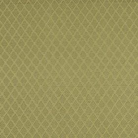 Romandie - Mint Julep - Straw coloured silk, cotton and acrylic blended into a fabric with a small, subtle patterned diamond design
