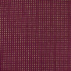 Mari Link - Magenta - Tiny off-white coloured flecks woven in neat rows into aubergine coloured linen, silk and viscose blend fabric