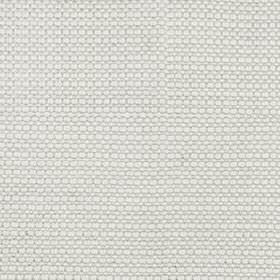 Mari Link - Silver - Fabric woven from a blend of linen, silk and viscose in a plain shade of snow white