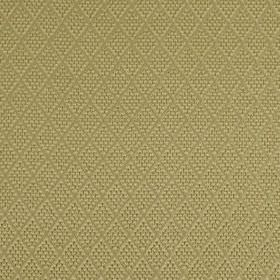 Romandie - Antique Gold - Subtle dotted diamonds arranged in rows on creamy beige coloured silk, cotton and acrylic blend fabric