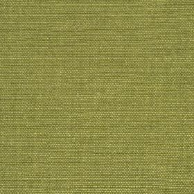 Linseed Solid - Arugula - Fresh fern green coloured linen and polyamide blended together into a plain fabric