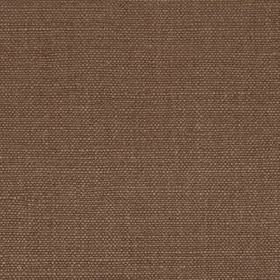 Linseed Solid - Bark - Versatile brown-grey coloured fabric woven from a combination of linen and polyamide