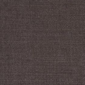 Linseed Solid - Coal - Dark graphite grey coloured linen and polyamide blended together into a practical fabric