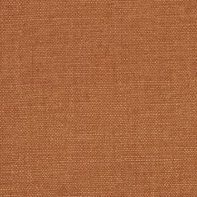 Linseed Solid - Cognac - Linen and polyamide blended together into a light terracotta coloured fabric