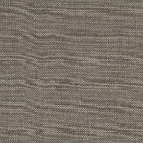 Linseed Solid - Dark Gray - Fabric made from linen and polyamide in a plain, versatile shade of steel grey