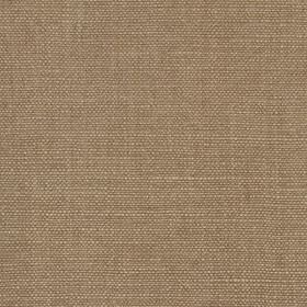 Linseed Solid - Dark Taupe - Linen and polyamide blend fabric made in a light brown-grey colour