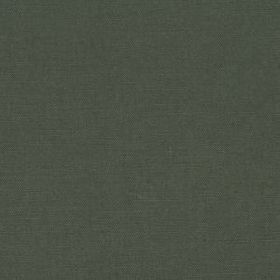 Linseed Solid - Evergreen - Fabric blended from a mixture of linen and polyamide in a contemporary dark grey-blue colour