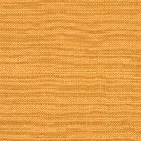Linseed Solid - Gold - Bright orange coloured fabric made with a mixed linen and polyamide content