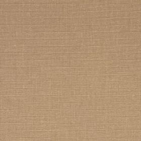 Flax Rib - Dark Honey - Fabric made from linen and cotton in a plain colour that's a blend of latte brown and blush pink