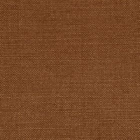 Linseed Solid - Leather Brown - Plain fabric made from linen and polyamide in a rich chocolate brown colour